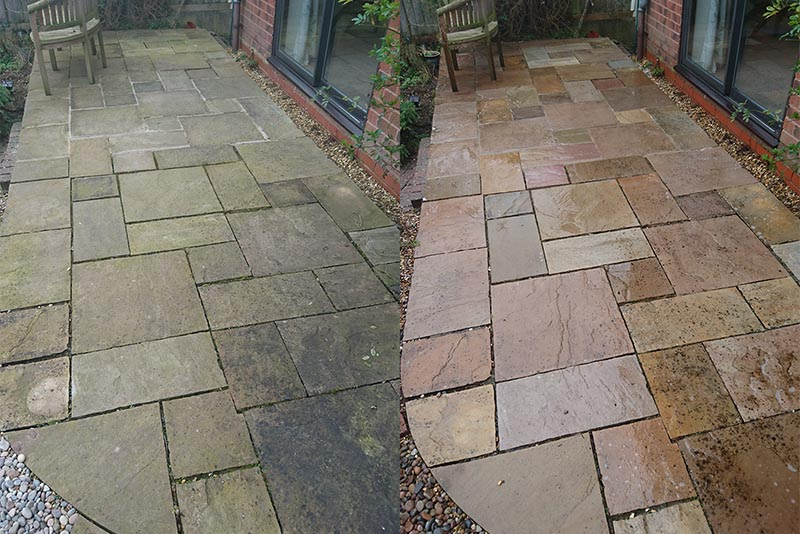 Patio Cleaning Services Lichfield, Staffordshire