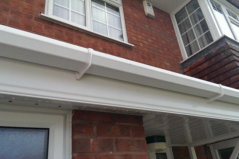 Fascia and Soffit Cleaning Lichfield, Staffordshire